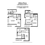 Floorplans for 4 Bedroom Town Home in South Ottawa